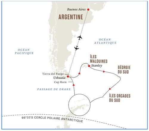 Voyage en Antarctique pour l'éclipse totale du 4 décembre 2021
