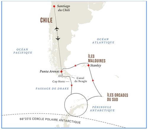 Croisière en Antarctique pour l'éclipse totale du 4 décembre 2021