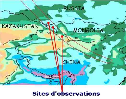 Site observation éclipse 2008